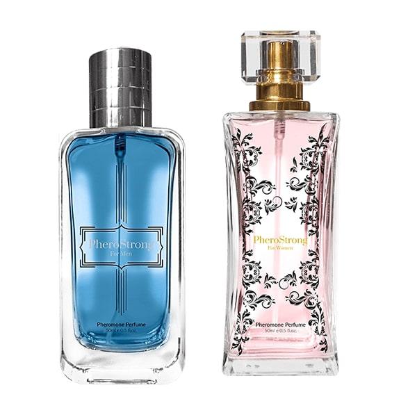 PROMOCJA - 25% - Perfumy z feromonami - PheroStrong for Men 50 ml + PheroStrong for Women 50 ml